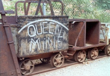 Queen mine in Bisbee