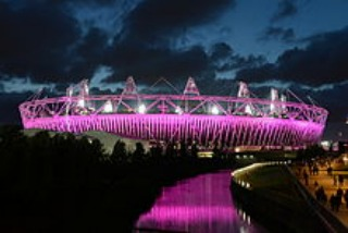 The beautiful London Olympic Stadium
