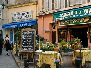 retire in France great food and wine