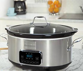 eat at home and conserve with a slow cooker
