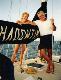 the highly stressed sailing couple
