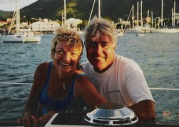 Live the dream... Live on a sailboat in the Caribbean