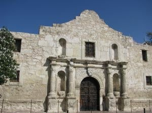 retiring in Texas, the Alamo