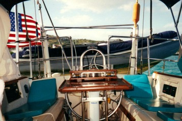 dinghy theft,  cruising safety at anchor