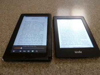 E-readers, easily justify the cost