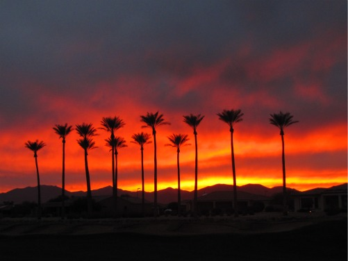Sun City grand sunset courtesy of Dr. Eugene Willis