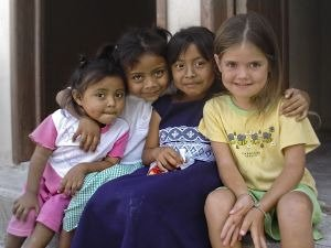 kids in Mexico