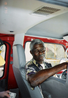 maxi taxi driver in St. Croix
