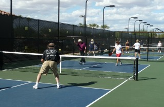 pickleball in Arizona,  popular and getting more so