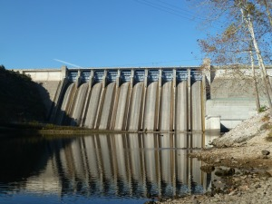 Table Rock dam provides the tail waters of Lake Taneycomo