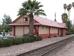 old Wickenburg train station